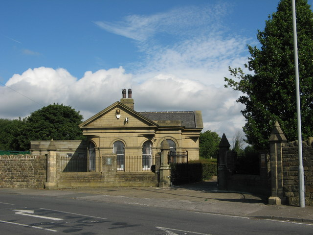 Undercliffe Cemetery South Entrance, Undercliffe Lane