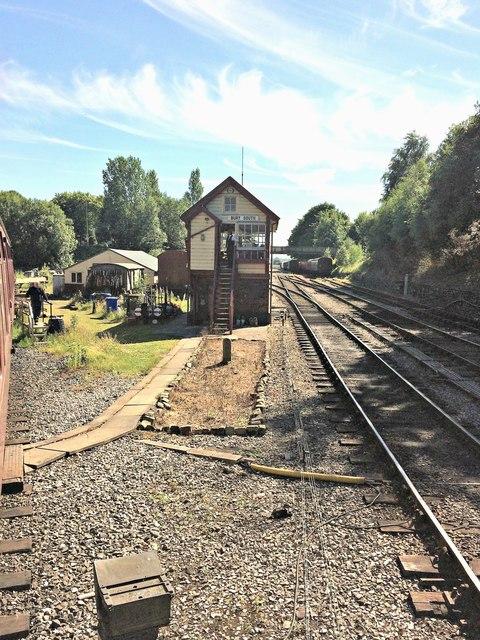 Bury South signal box