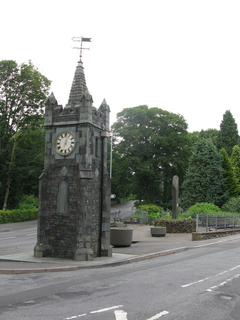 Baddeley Memorial Clock, Windermere