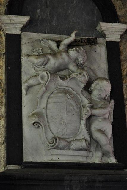 Buckland, St. Michael's Church: The James Thynne memorial
