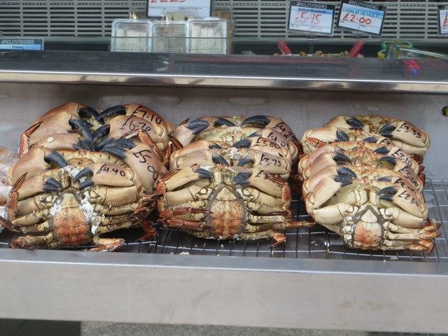 Crabs for sale, Bridlington