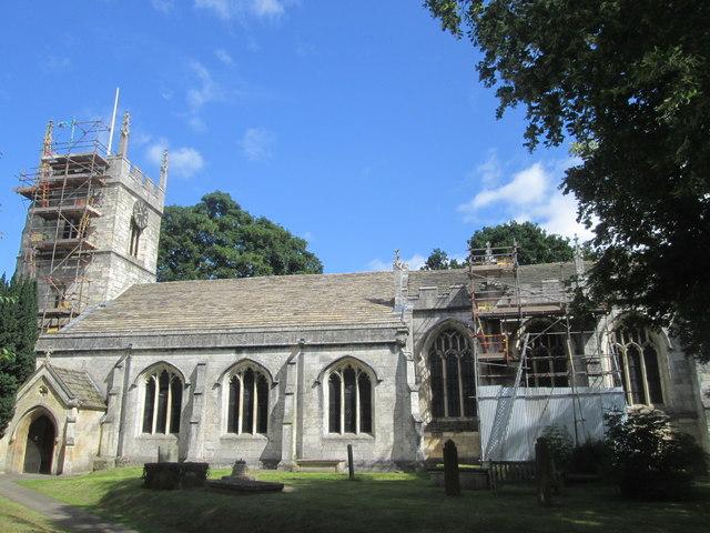 All Saints Church, Bolton Percy