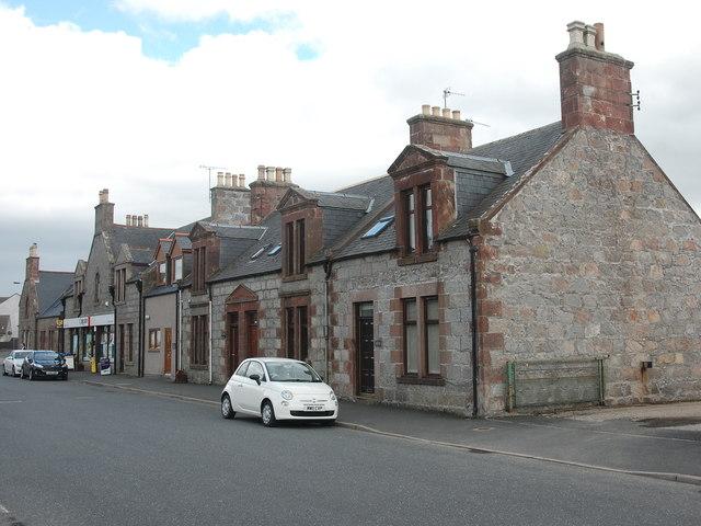 Main Street, Rothienorman...