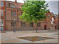 TA0928 : Hull Grammar School, Trinity Square by David Dixon