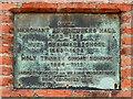 TA0928 : Merchant Adventurers' Hall/Hull Grammar School Plaque by David Dixon