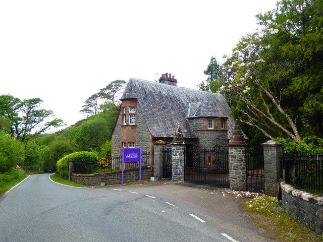 Gatehouse for Glenborrodale Castle