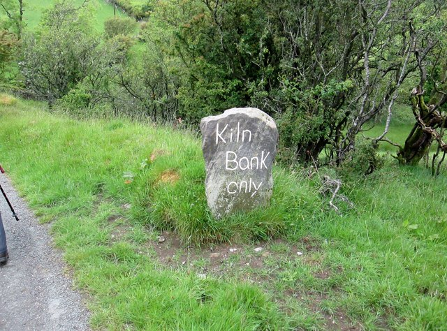 Kiln  Bank  only.  Long  Lane  is  only  a  farm  access  road