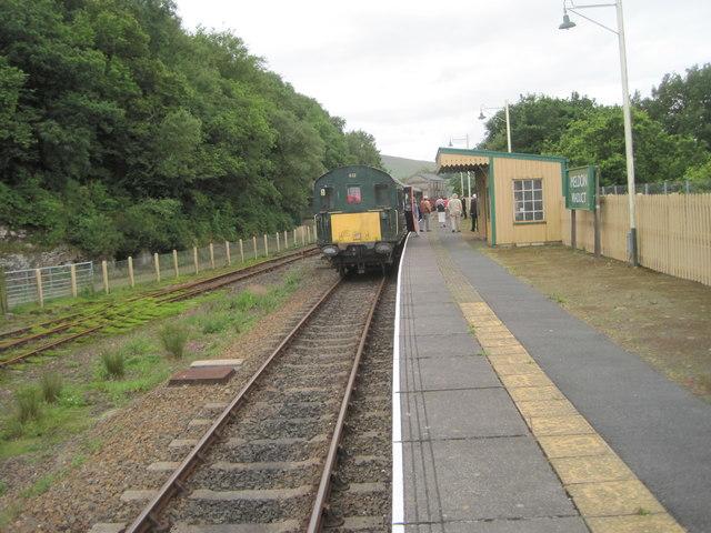 Meldon Viaduct railway station, Devon