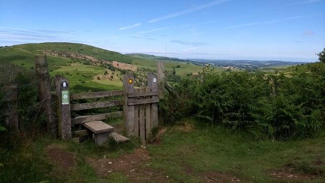 Stile on Offa's Dyke Path
