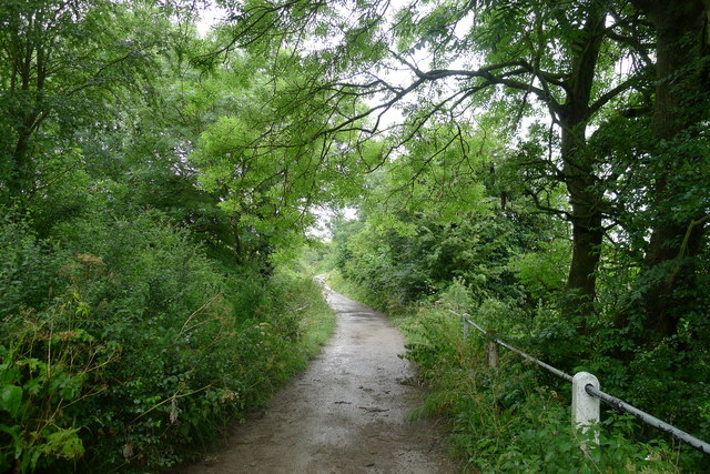Byway crossing the River Eye