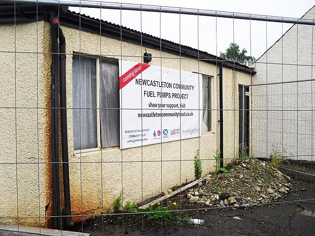 Notice - Newcastleton Community Fuel Pumps Project