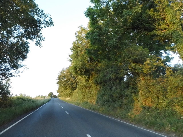 The A3090 approaching Winchester