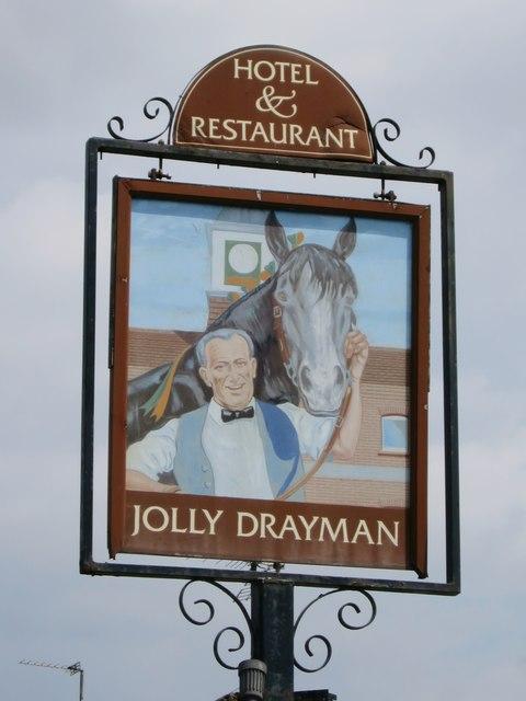 Jolly Drayman sign