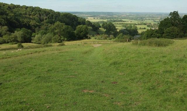 Bridleway to Elmley Castle