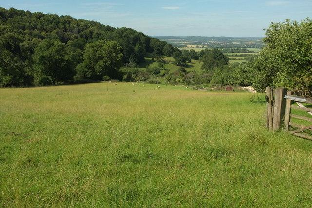 Lower slopes of Bredon Hill