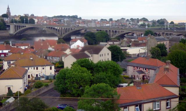 Tweedmouth and the Royal Tweed Bridge