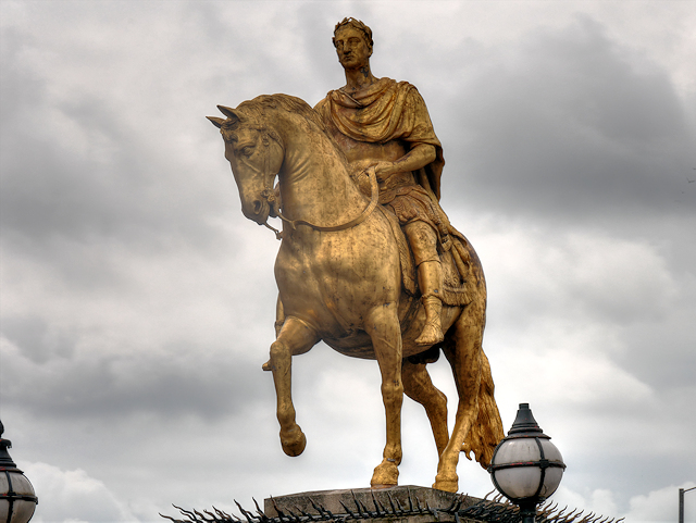 King William and His Horse