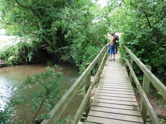 Footbridge over Norton Brook