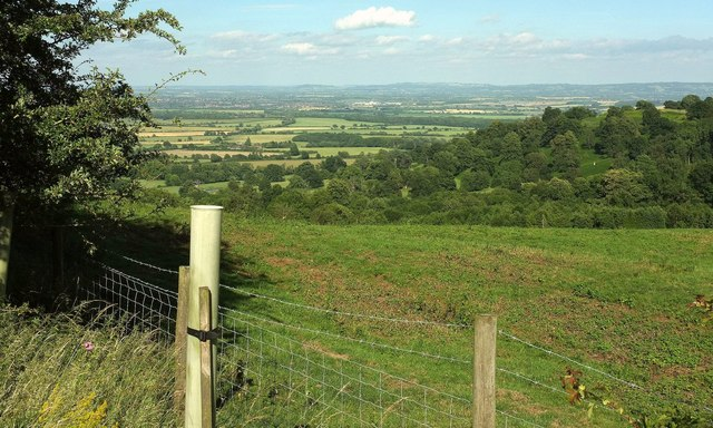 Towards the Vale of Evesham