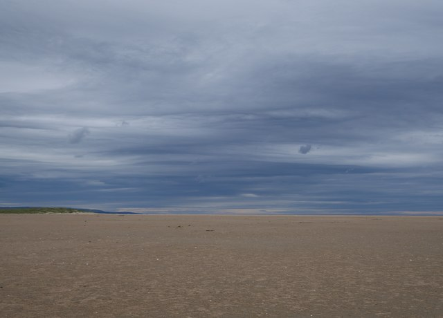 Ominous Sky Above Cheswick Sands