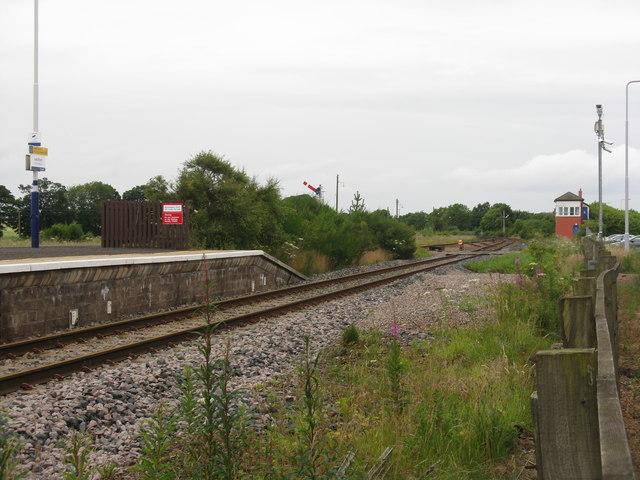 Railway at Leuchars