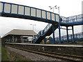 NO4420 : Leuchars station by M J Richardson