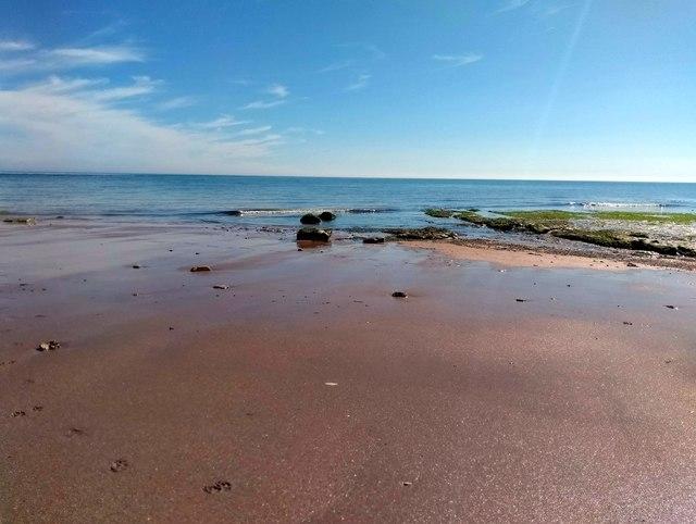 Beach at Falling Sands