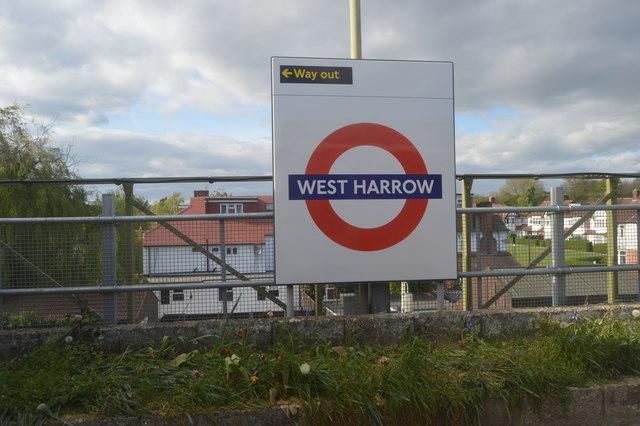 West Harrow Underground Station