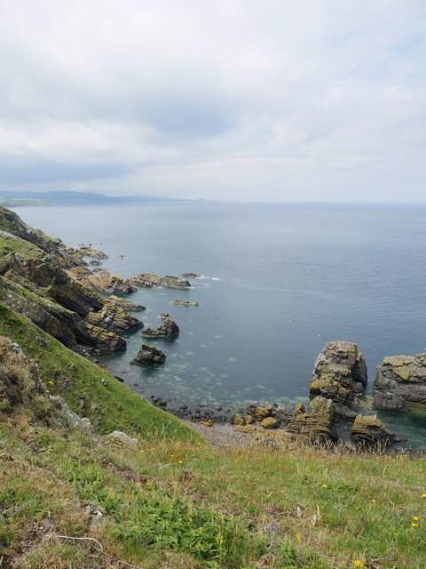The North Berwickshire Coastline