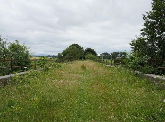 On Newbiggin Dean Viaduct
