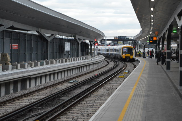 Platform 6, London Bridge Station