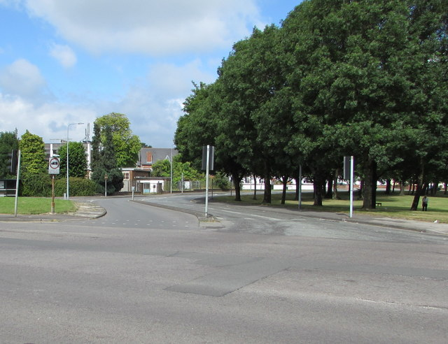 Junction of Newport Road and Llanrumney Avenue, Cardiff
