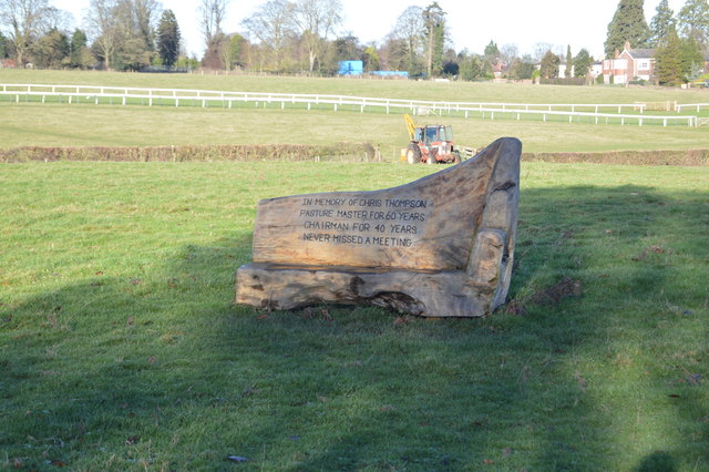 Memorial Bench, The Westwood