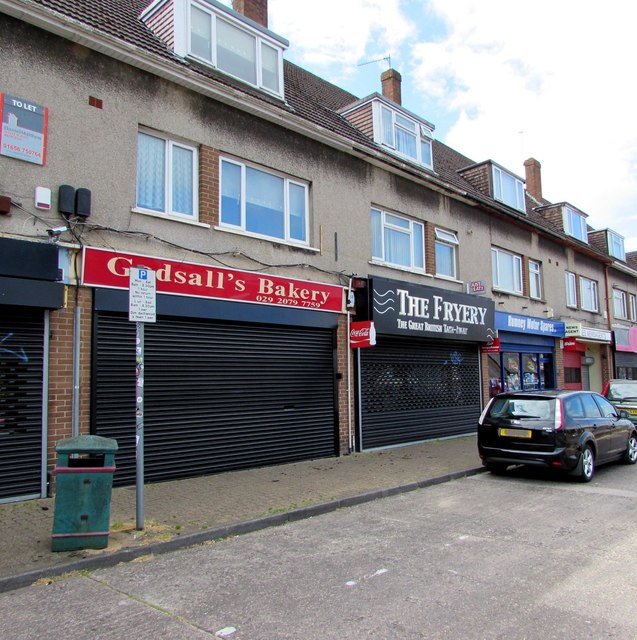 Godsall's Bakery and The Fryery, Newport Road, Rumney, Cardiff