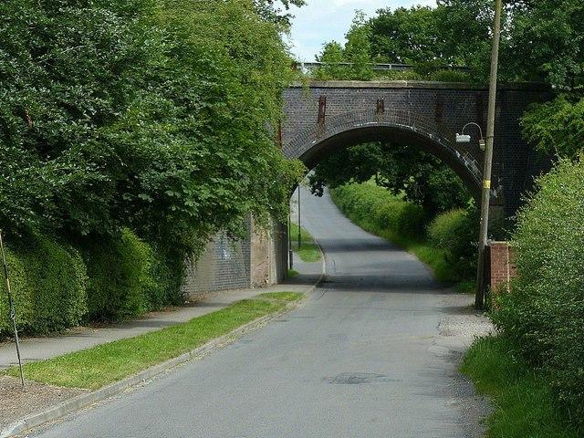 Mapperley Lane railway bridge