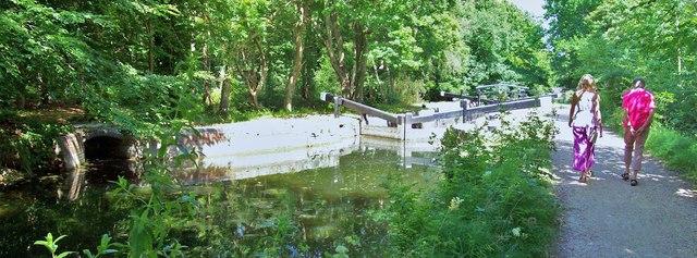 Lock 18, Basingstoke Canal