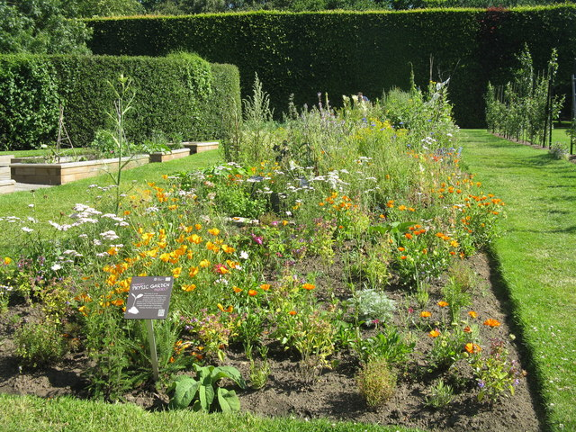 Physic Garden at the Royal Botanic Garden Edinburgh