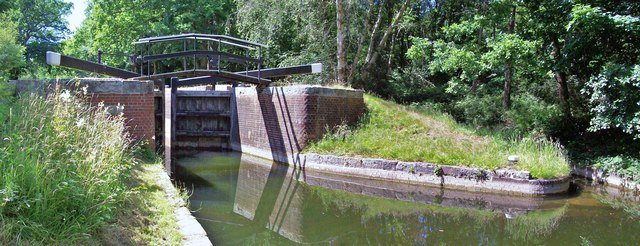 Lock No 18, Basingstoke Canal