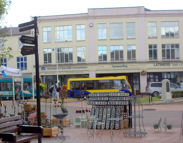 Chesham HIgh Street market stall