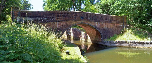 Cowshot Bridge, Basingstoke Canal