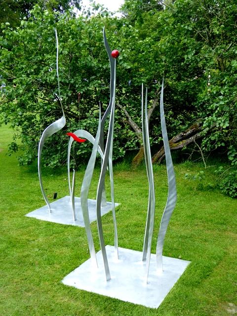 Sculptures at the Fresh Air Sculpture Show 2017