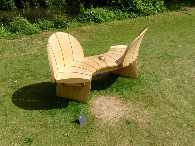kissing seat at the fresh air oliver dixon geograph britain