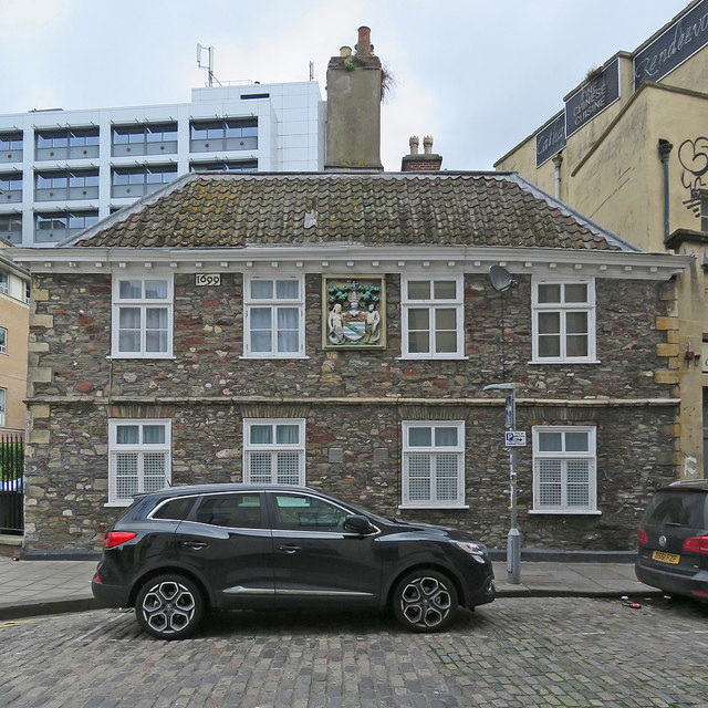Bristol: part of the Merchant Venturers' Almshouses