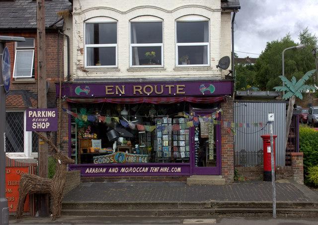 En Route shop, Berkhampstead Road, Chesham