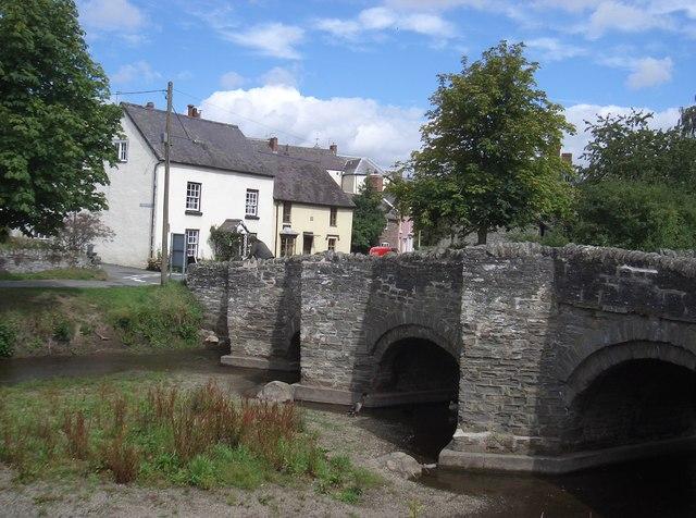The Old Bridge, Clun