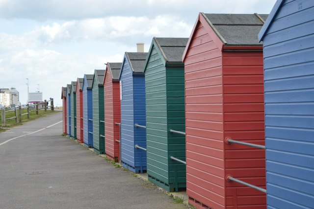 Beach huts, West Marina