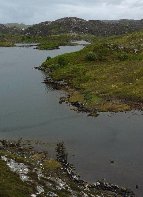 Wall, Loch nam Bodach, Isle of Lewis