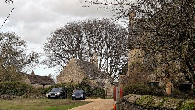 All Saints and farmhouses, Shorncote