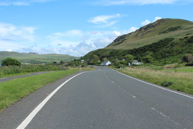 The A77 to Girvan