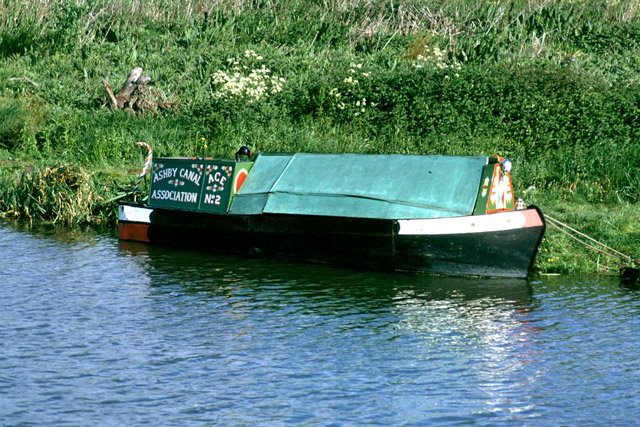Ashby Canal Association trip boat 'Ace', 1976